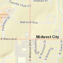 Midwest City Zip Code Map.Usps Com Location Details