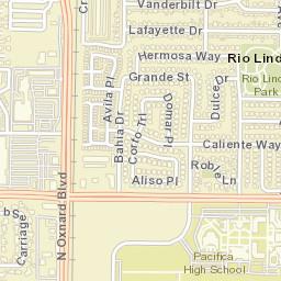 Oxnard Ca Zip Code Map.Usps Com Location Details