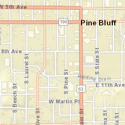 Pine Bluff Ar Zip Code Map.Usps Com Location Details