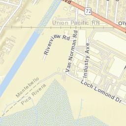 Pico Rivera Zip Code Map.Usps Com Location Details