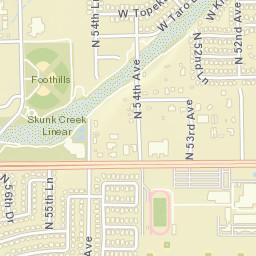 Zip Code Map Glendale Az 85318 Creativehobby Store