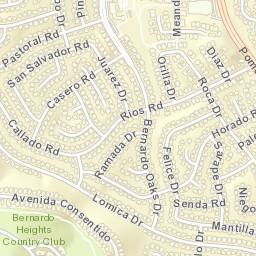 Rancho Bernardo Zip Code Map.Usps Com Location Details