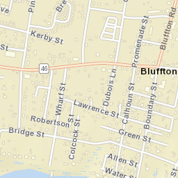 USPS.com® - Location Details on city of bluffton indiana, city of bluffton sc map, huntington county in map,