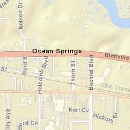 Ocean Springs Ms Zip Code Map.Usps Com Location Details