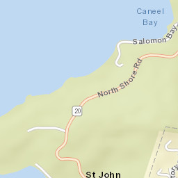 Zip code for st john usvi