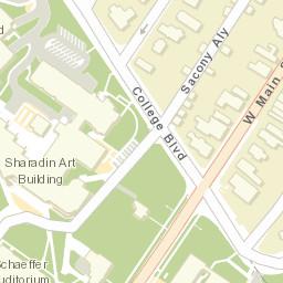 Kutztown Univ Campus Map on