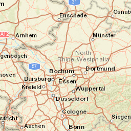 Netherlands Topographic Map.Topographic Maps Netherlands 1 250 000 Scale Topographic Map Index