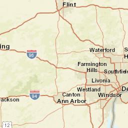 MDOT Mi Drive Interactive Map