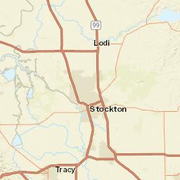 Online Map Sacramento County California Usa