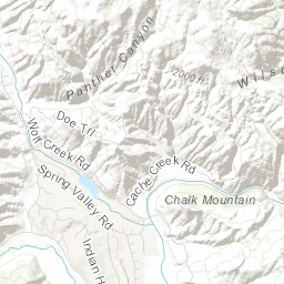 This Map Shows The Devastation From The Pawnee Fire Sfgate