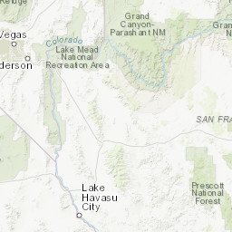 Grand Lake Fire Map.Kaibab National Forest Fire Management