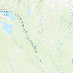 Grand Lake Stream Maine Map.Grand Lake Forest City Dam Forest City Maine