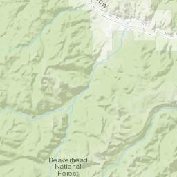Geologic map of the Eastern Pioneer Mountains, Beaverhead County ...