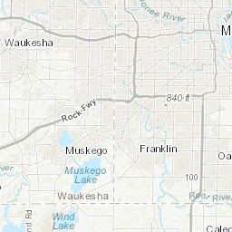 Water-table map of Milwaukee County, Wisconsin