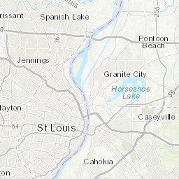 Ward and Neighborhood Boundaries St Louis Neighborhood Map on