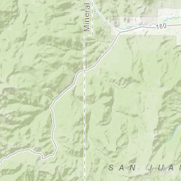 GIS Database and Maps - San Juan Headwaters Forest Health