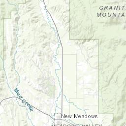 big creek idaho map Big Creek Idaho Fishing Planner big creek idaho map