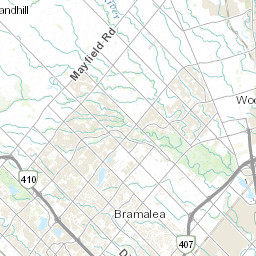 Brampton Canada Map.Acris