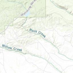 Fremont County Wyoming Map Server.Geologic Map Of The Atlantic City Quadrangle Fremont County Wyoming