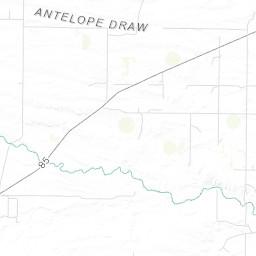 on cheyenne wyoming map