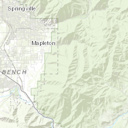 Utah County Election Map