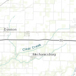 County Highway Winter Road Conditions on