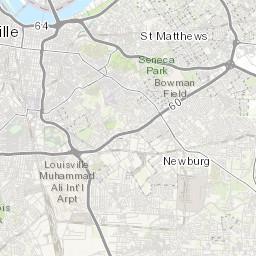 Louisville Metro Electrical Inspection Area Map