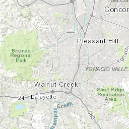Map of CPT Data Alameda County