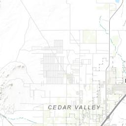 Geologic map of the Cedar City NW quadrangle, Iron County, Utah on