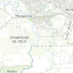 Missouri City Flood Map