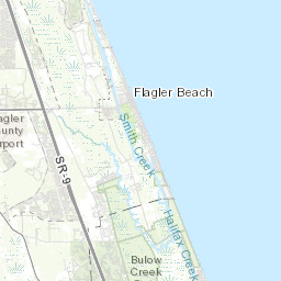 Map Of Palm Coast Florida.Arcgis Palm Coast Flagler County Fl Usng 100 Meter Grid Map