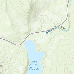 Fremont-Winema National Forest - Mountain Lakes Wilderness