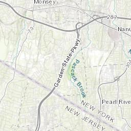 Ridgewood New Jersey Map.Ridgewood Water Pressure Zone Map