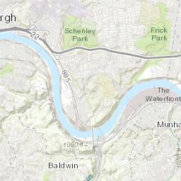 Map & Routes - BikePGH : BikePGH