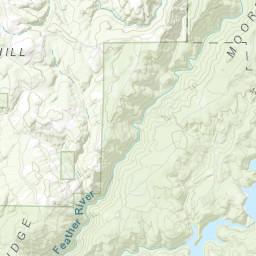 Ponderosa Butte County YubaNet Fire News - Butte county map