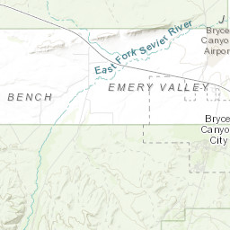 ArcGIS - Bryce Canyon National Park Trails
