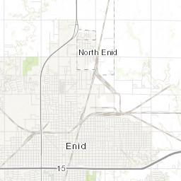 Explore Enid Map City of Enid Oklahoma
