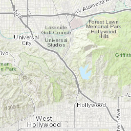 Downtown Los Angeles and Wilshire Corridor: Interactive Map