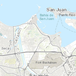 Geologic map of the Bayamon Quadrangle Puerto Rico