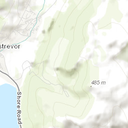 Ireland Elevation Map.Slievemartin Peakbagger Com