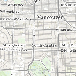 Finding Pokemon Nests in Vancouver
