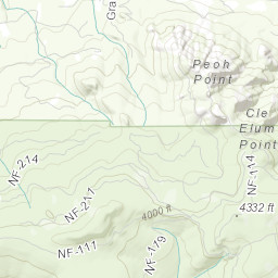 South Cle Elum Ridge Fire Status Map
