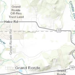 Grand Ronde Oregon Map.Canoe Journey Maps Grand Ronde Uav 2017