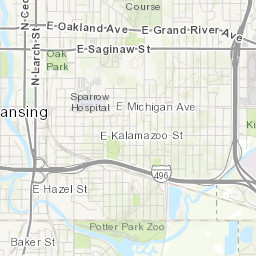 Southwest Lansing Map Lansing Mi Neighborhoods