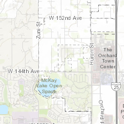 City of Thornton Park and Recreation Facility Finder