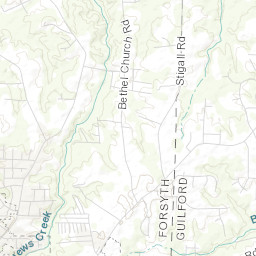 Kernersville Water Quality Web Map Editor