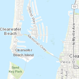 Clearwater Neighborhood Map | City of Clearwater, FL on
