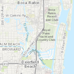 City of Deerfield Beach Resource Map | Mississippi Geospatial Open Deerfield Beach Map on