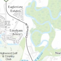 High River Alberta Canada Map.Fire Department Web Map