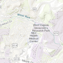 Downtown Campus Map Wvu.Wvu Main Campus